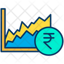 Rupees graph Icon