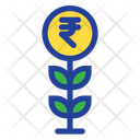 Plant Grow Rupees Plant Icon
