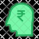 Rupees Head Icon