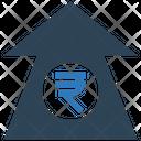 Rupees Increase Rupees Up Arrow Increase Arrow Icon