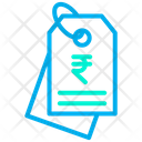 Rupees Tag Tag Label Icon