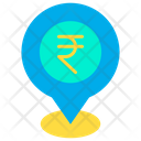 Rupees location Icon