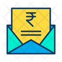 Rupees Message Rupees Mail Icon