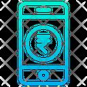 Mobile Online Money E Banking Icon