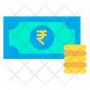Rupees Notes Rupees Euro Note Icon