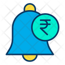 Rupees Notification Bell Notification Icon