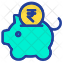 Rupees Piggy Icon