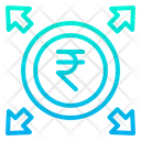 Rupees Profits Icon