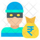 Rupees Robber Icon