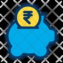 Rupees Savings Icon