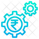 Rupees Setting Wheel Icon