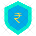 Rupees shield Icon