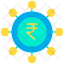 Rupees Spending Money Insights Moneyflow Icon