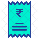 Rupees Statement Icon