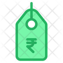 Tag Rupees Offer Tag Icon