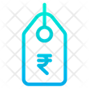 Rupees Tag Icon