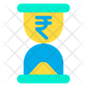Hourglass Rupees Time Icon