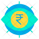 Rupees View Rupees Eye Rupees Icon