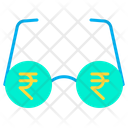 Rupees Vision Vision Money Icon
