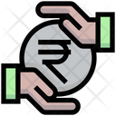 Rupess Investment Safe Investment Rupees Finance Icon