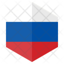 Russia Country Flag Icon