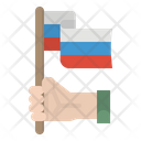 Russia Flag Country Icon