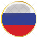 Russia National Country Icon