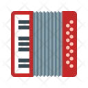 Russian accordion Icon