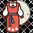 Russian Costume Icon