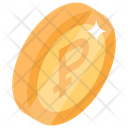 Russian Coin Russian Currency Coin Money Icon