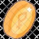 Russian Ruble Icon