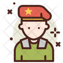 Russian Soldier Icon