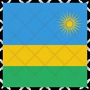 Rwanda National Country Icon