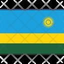 Flag Country Rwanda Icon