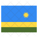 Rwanda Country National Icon