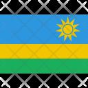 Rwanda Flag World Icon