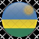 Rwanda Country Flag Icon