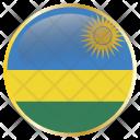 Rwanda Holiday Country Icon
