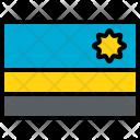 Rwanda Flag Country Icon