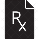 Rx Prescription Icon