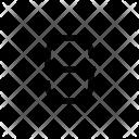S Alphabet Symbol Icon
