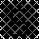S Alphabet Sign Icon