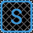 Key S Upper Icon