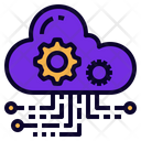 Saas Software As Icon