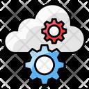 Saas Cloud Computing Cloud Configuration Icon