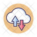 Msaas Saas Cloud Data Icon