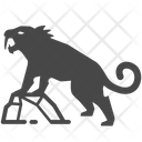 Saber Tooth Tiger Sabre Tooth Icon