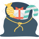 Sack Gifts Santa Icon