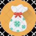 Sack Gifts Santa Icon