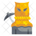 Sack Man Spooky Costume Icon